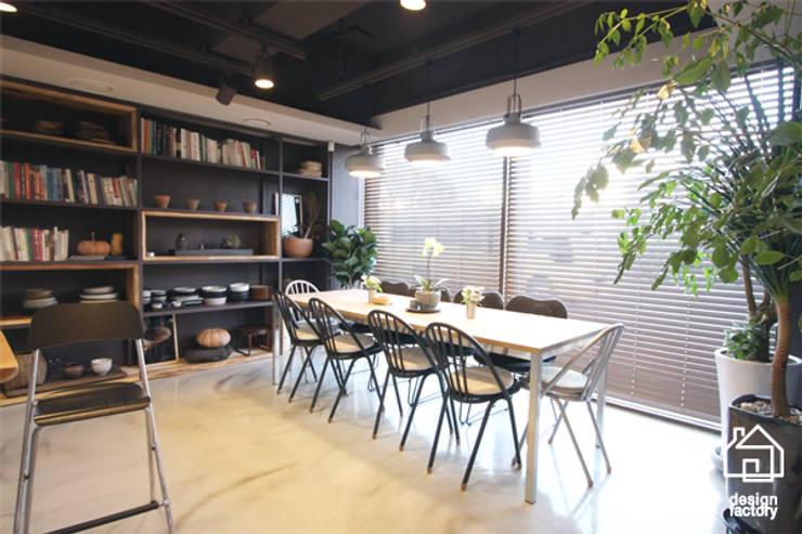 COOKING STUDIO '차롱': 디자인팩토리의  다이닝 룸