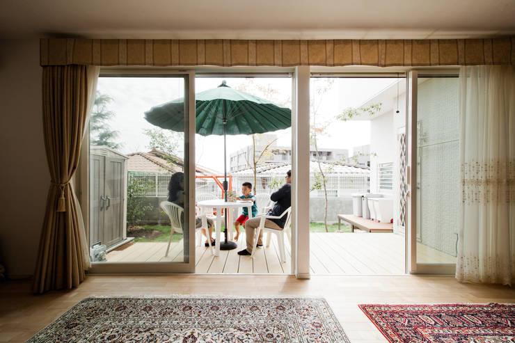 ระเบียง, นอกชาน by 遊友建築工房