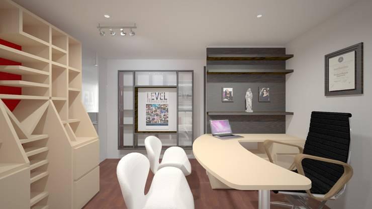 Gerencia 2: Oficinas y Tiendas de estilo  por Ivan Gomez Arquitecto
