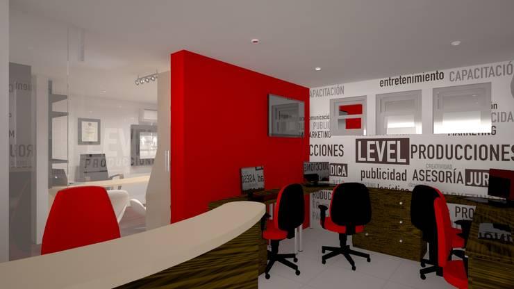 Zona de ejecutivos: Oficinas y Tiendas de estilo  por Ivan Gomez Arquitecto, Moderno