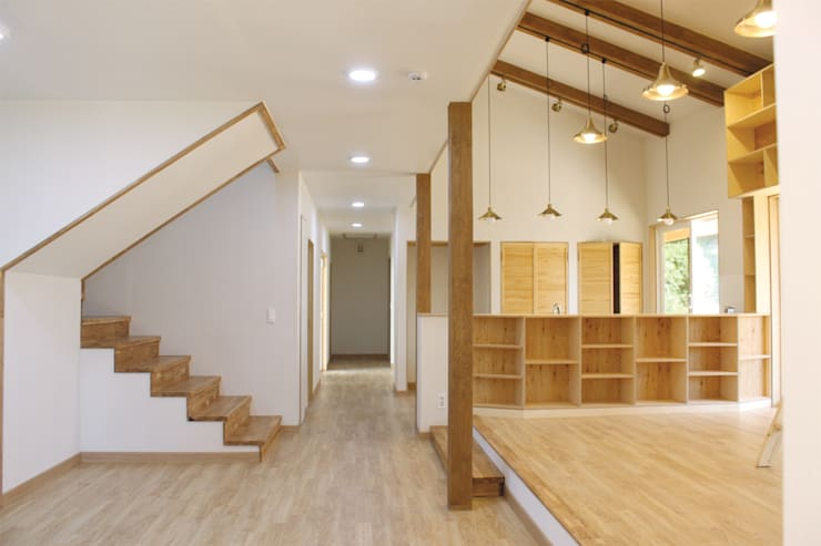 Living room by 꿈꾸는목수