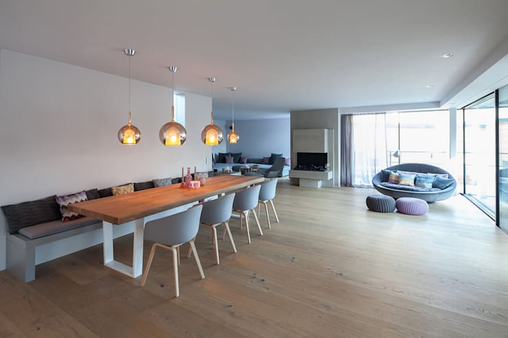modern Dining room by BESPOKE GmbH // Interior Design & Production