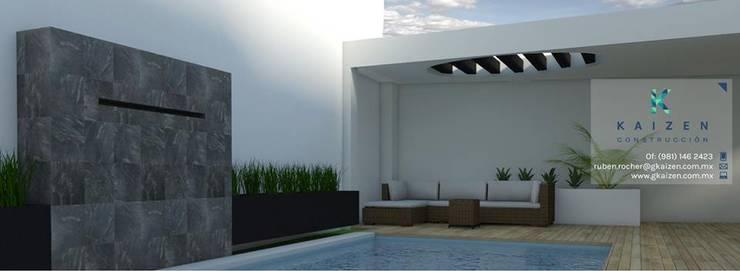 Portada: Casas de estilo  por Kaizen Construcción