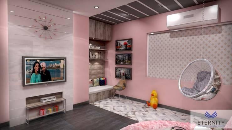 Interior design:  Bedroom by Eternity Designers