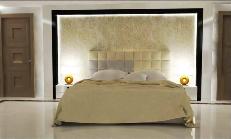 Interior Design: modern Bedroom by The Silversea