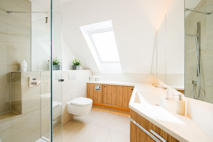 Ванные комнаты в . Автор – Innenarchitekturbüro Jürgen Lübcke