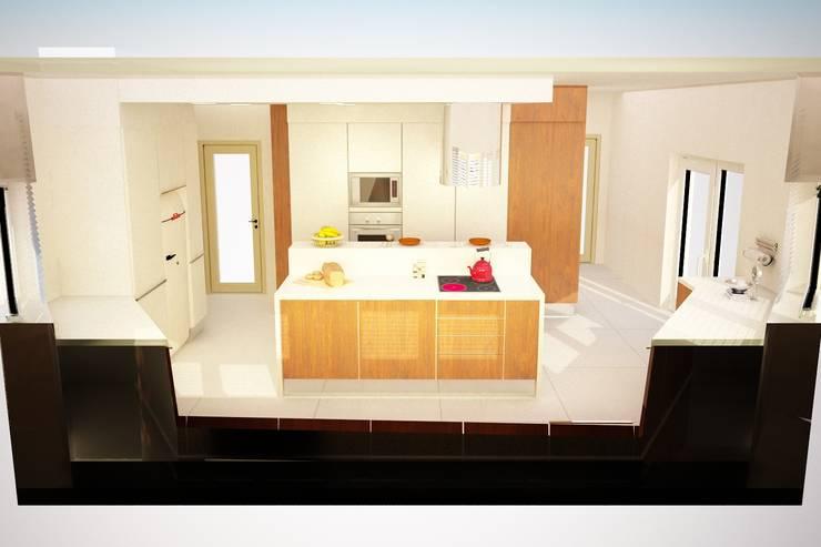 Projeto de Cozinha – Setubal:   por Decorando - Inner Spaces