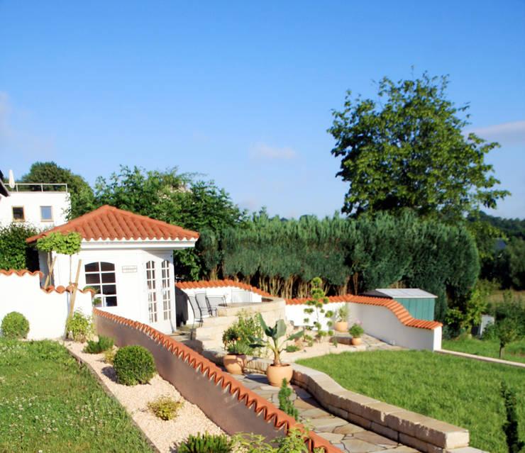 Jardin de style  par Rimini Baustoffe GmbH