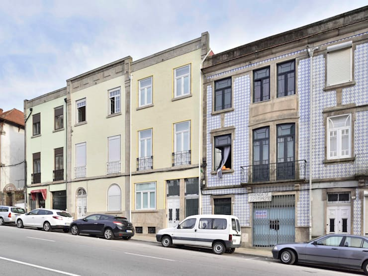 Casa na Avenida Fernão de Magalhães: Casas  por Alessandro Pepe Arquitecto