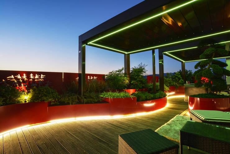 Сады в . Автор – Tecnica Verde
