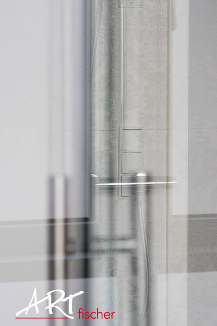 浴室 by ARTfischer Die Möbelmanufaktur.,