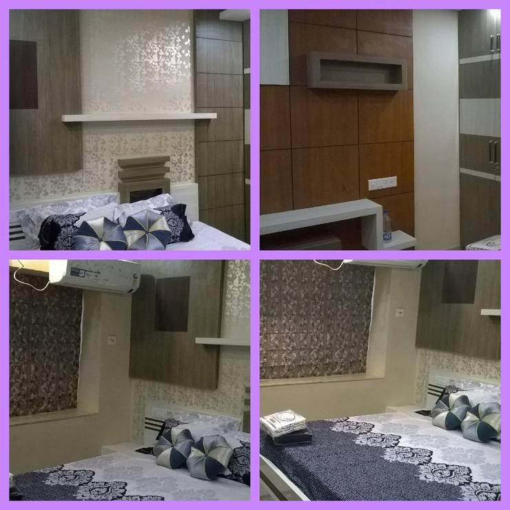 Master's Bedroom:  Bedroom by Elegant Dwelling