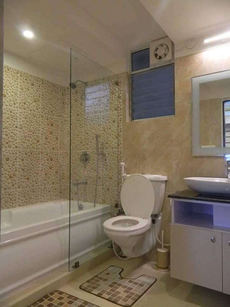Exotic Bathroom: modern Bathroom by Elegant Dwelling