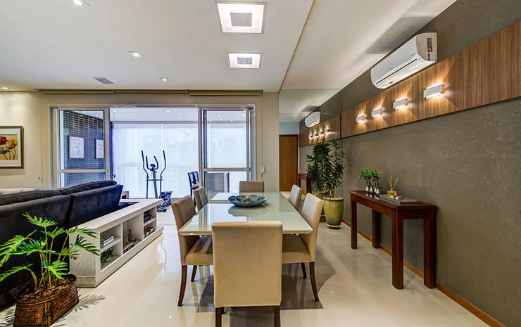 Sala de Jantar: Salas de jantar  por Eveline Maciel - Arquitetura e Interiores