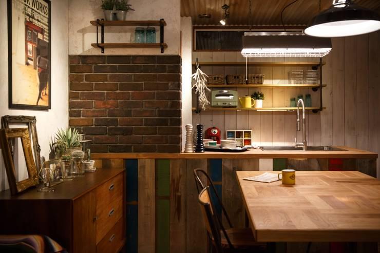 HOUSE02: dwarfが手掛けたキッチンです。