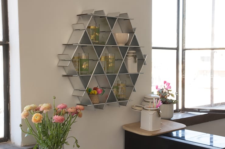 مطبخ تنفيذ Ruche shelving unit