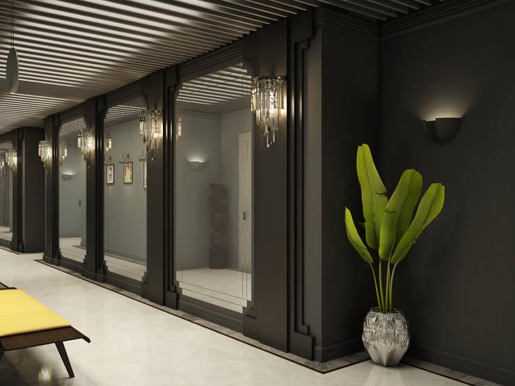 Апарт-отель «Fellini»: Гостиницы в . Автор – Wide Design Group
