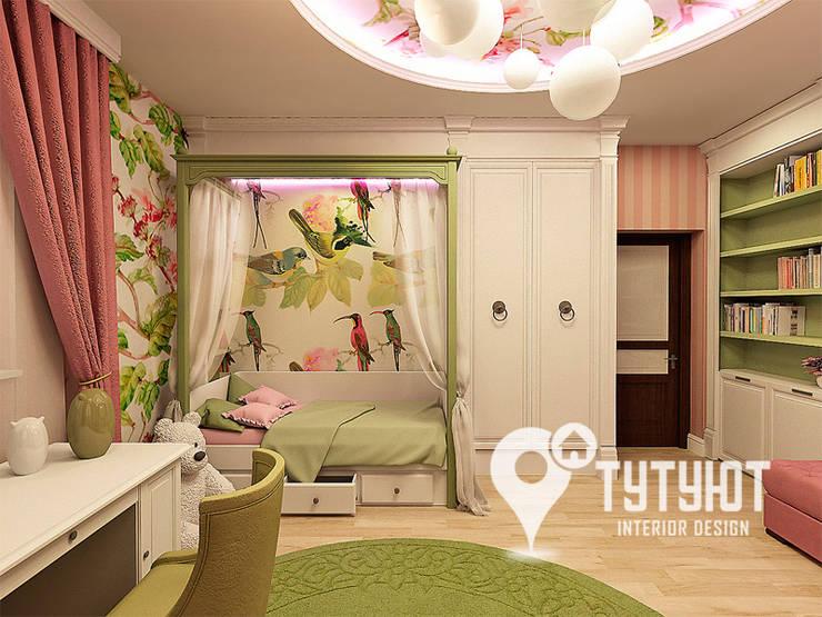 eclectic Nursery/kid's room by Interior Design Studio Tut Yut