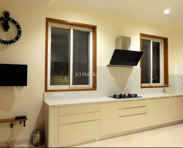 industrial Kitchen by Mallika Seth