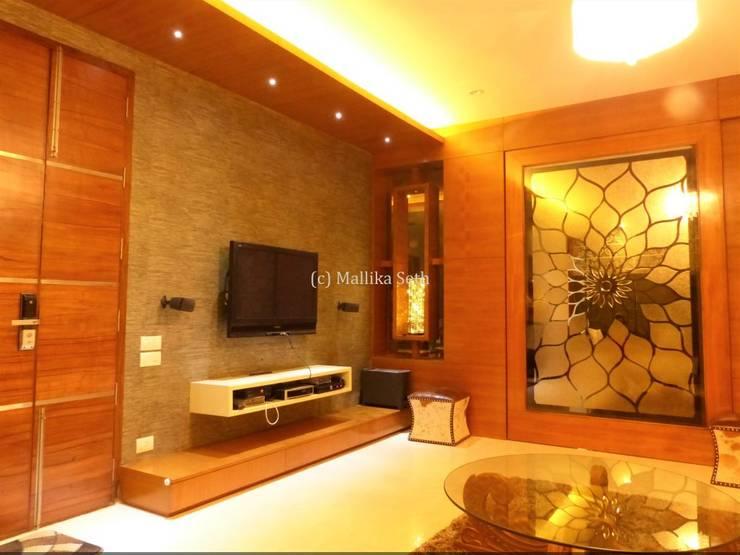 Media room by Mallika Seth