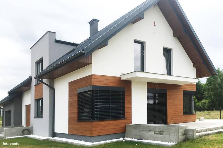 Realizacja projektu Dom w moliniach: styl , w kategorii  zaprojektowany przez ARCHON+ PROJEKTY DOMÓW