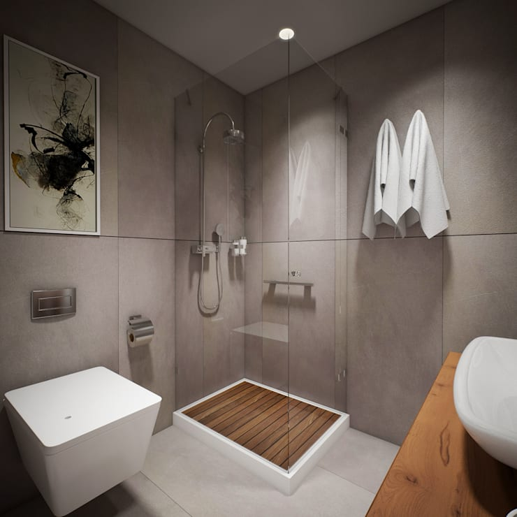 Bathroom by yücel partners