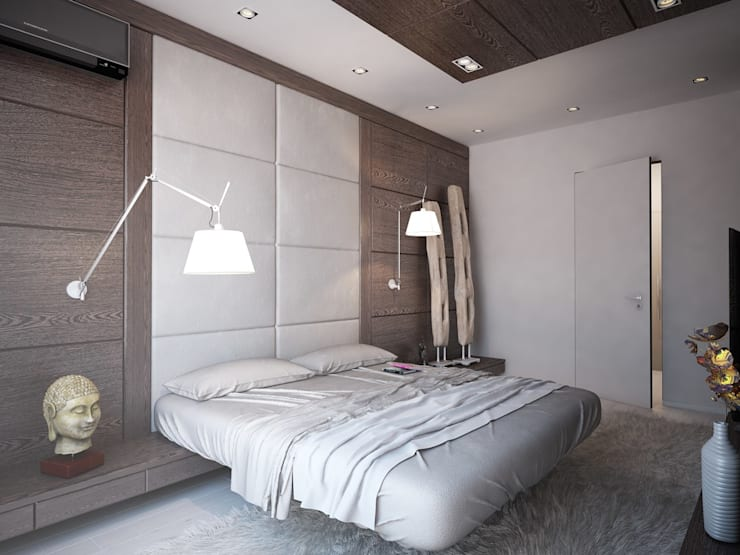 Bedroom by Grafit Architects