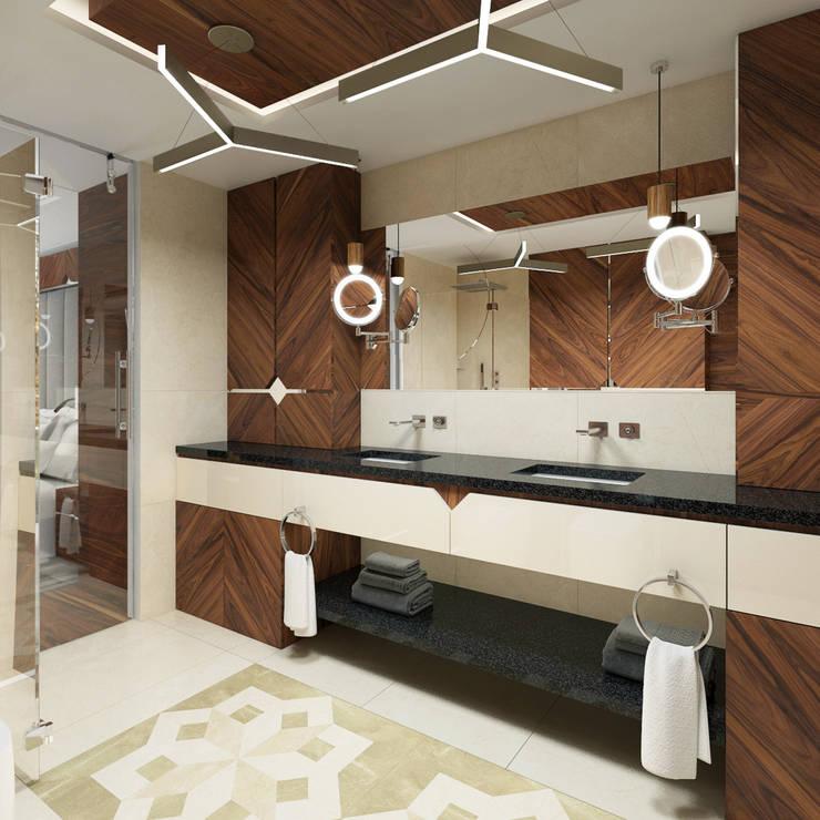 Baños de estilo  por TutajConcept