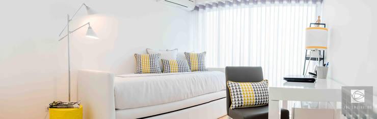 Antes e Depois- Quarto Jovem :   por Ângela Pinheiro Home Design