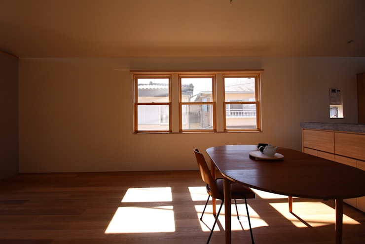 Jendela oleh Mimasis Design/ミメイシス デザイン, Eklektik Kayu Wood effect