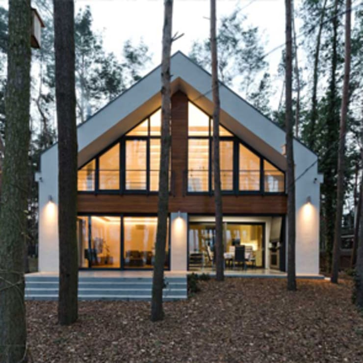 Maisons de style  par ELM Projekt Studio