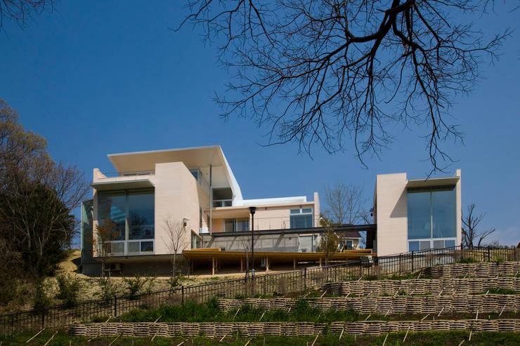 愛車と暮らす家(フェラーリ): Kenji Yanagawa Architect and Associatesが手掛けた家です。