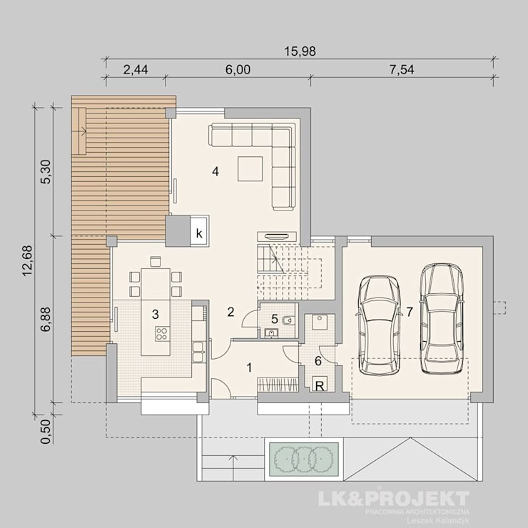 Garage / Hangar de style  par LK&Projekt GmbH