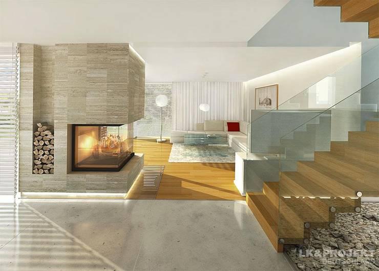 Salon de style de style Moderne par LK&Projekt GmbH