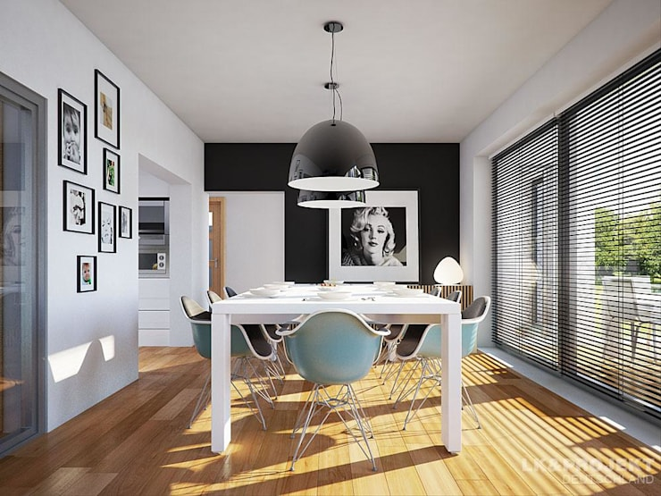 modern Dining room by LK&Projekt GmbH