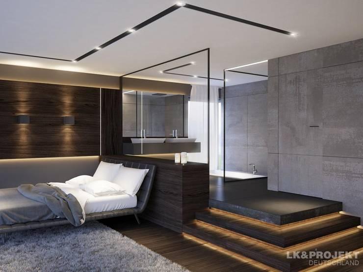 Спальни в . Автор – LK&Projekt GmbH