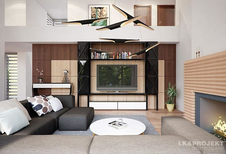modern Living room by LK&Projekt GmbH