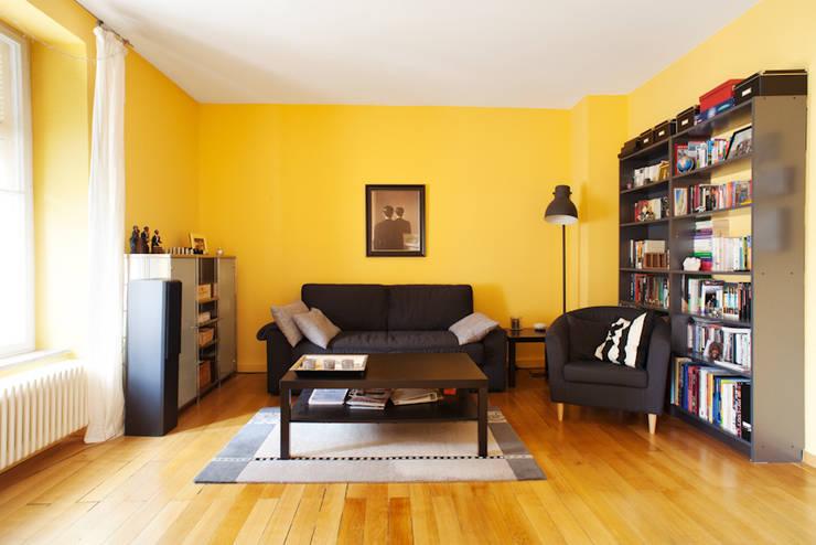 MW Immobilienfotografie:  tarz Oturma Odası