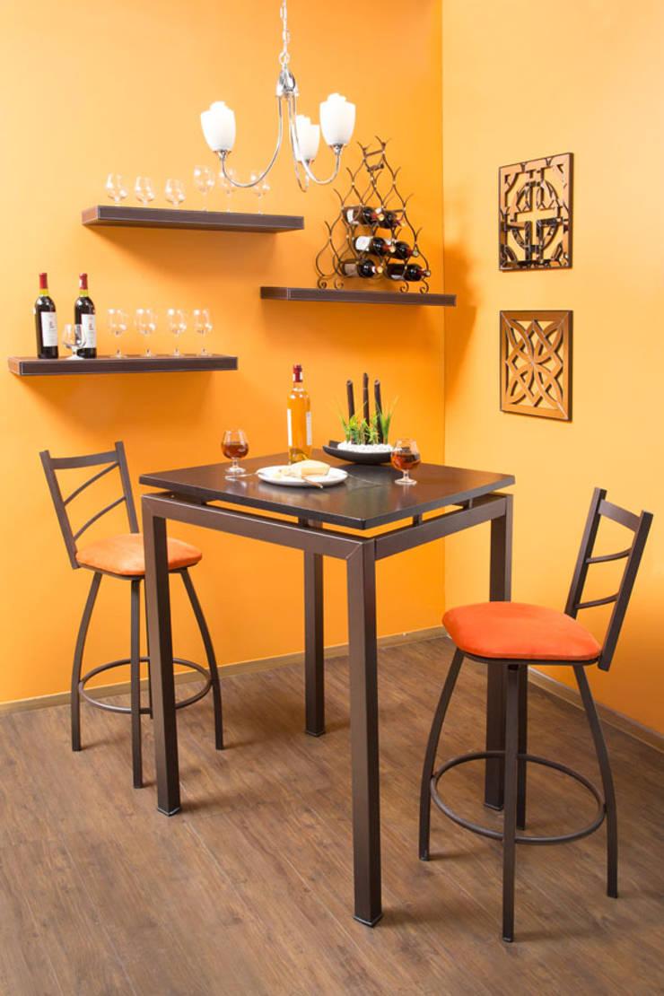 bar : Comedor de estilo  por Idea Interior