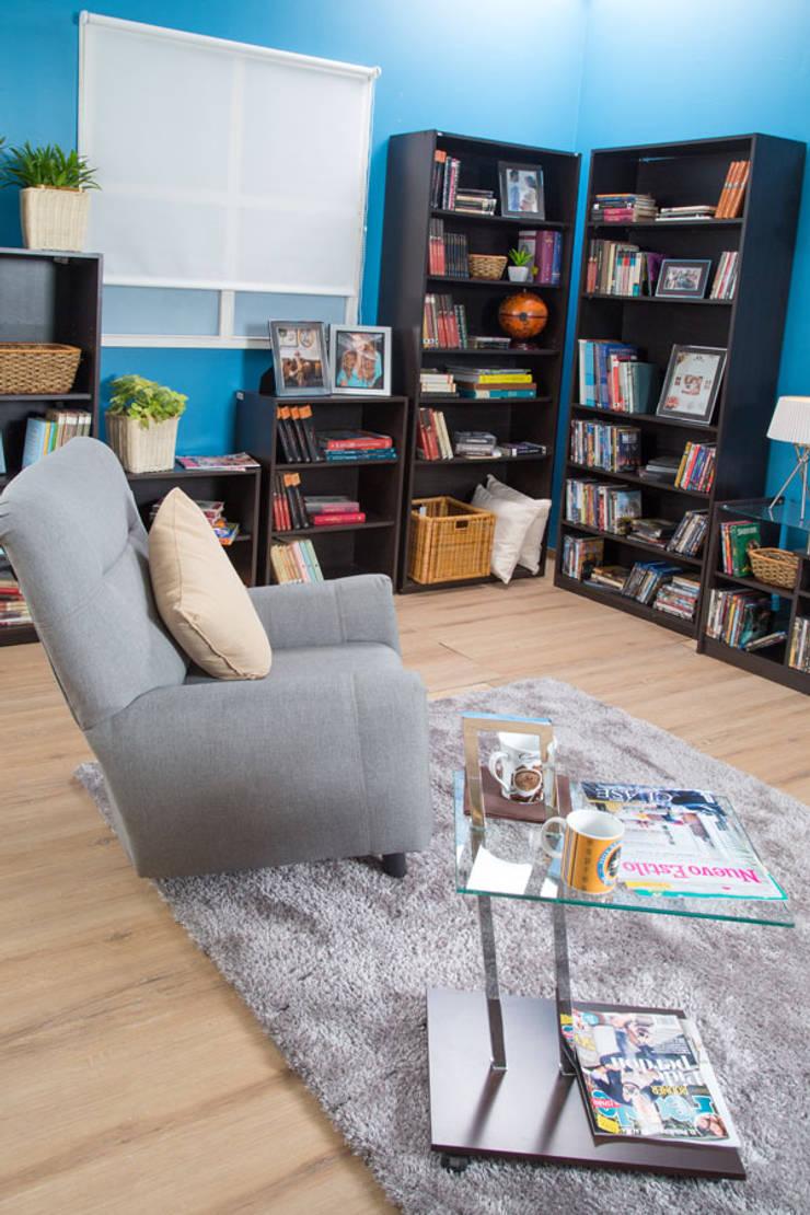 Sala de lectura: Salas de estilo  por Idea Interior