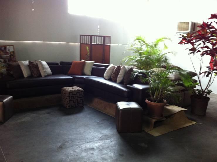 Modular: Salas/Recibidores de estilo moderno por Decoraciones Santander