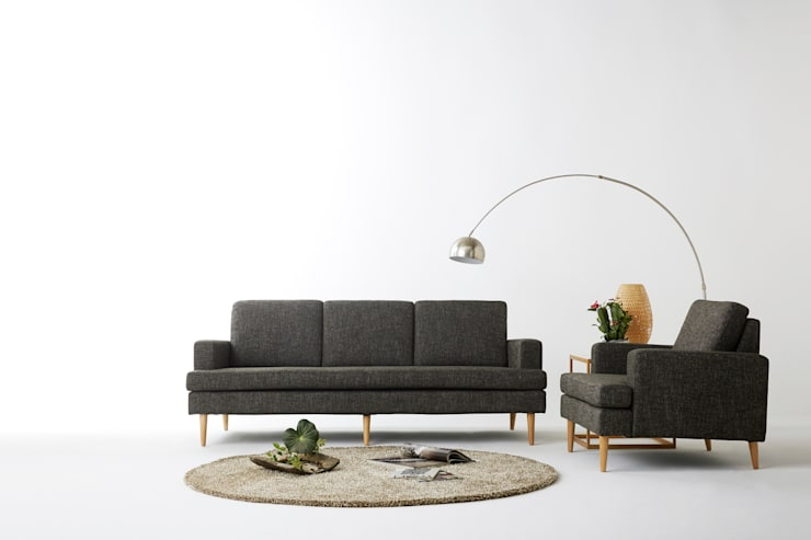 Balance 3.0 RoyalGray Sofa: MöBEL-CARPENTER (모벨카펜터)의  거실