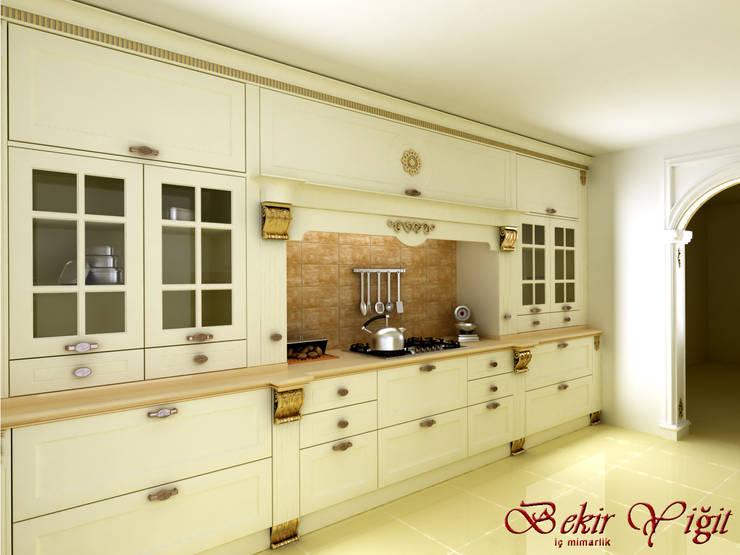 BEKİR YİĞİT İÇ MİMARLIK – Göktürk Mutfak:  tarz Mutfak