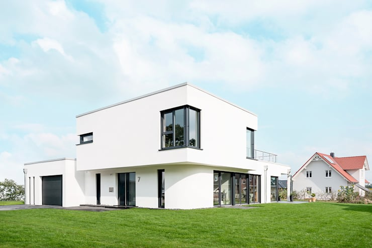 Ansicht Straße: Moderne Häuser Von Hellmers P2 | Architektur U0026 Projekte