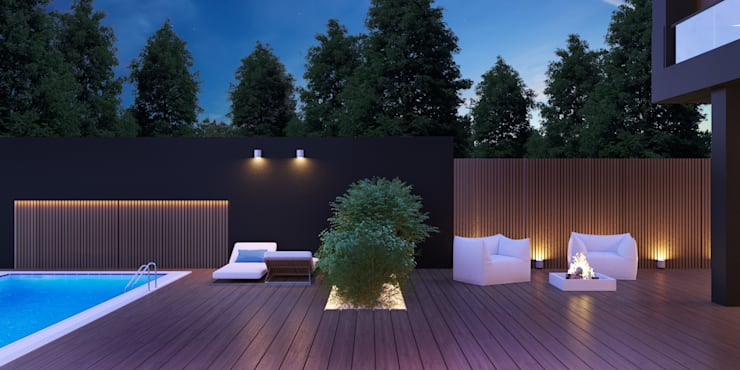 Terrazas  de estilo  por Room Краснодар