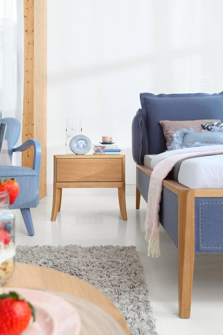Skey - filc w nowej odsłonie: styl , w kategorii Sypialnia zaprojektowany przez Swarzędz Home