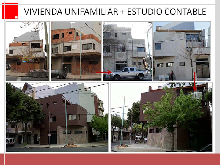 Remodelacion de Vivienda y Estudio: Casas de estilo  por Remodelaciones SF