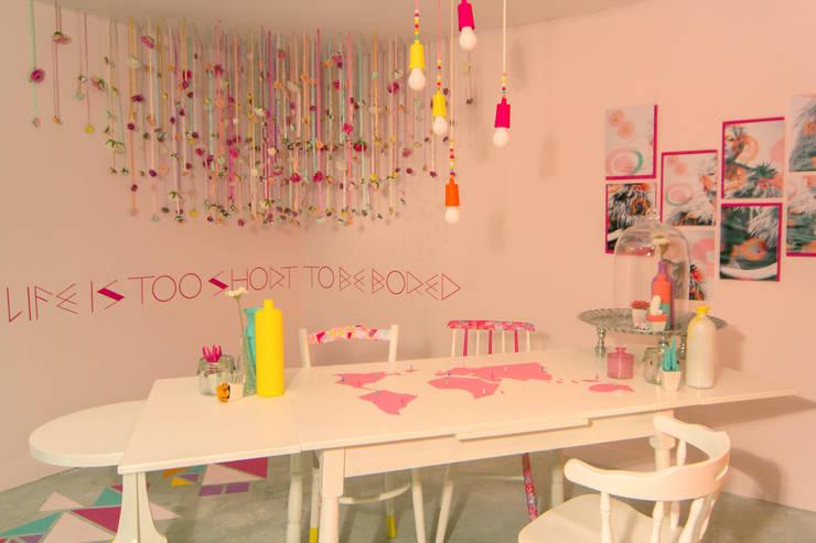ห้องทานข้าว โดย Nimeto Utrecht, ผสมผสาน