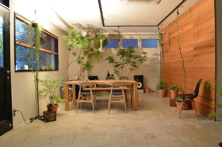 T's lab & GARDENS オリジナルデザインの 書斎 の T's lab一級建築士事務所 オリジナル