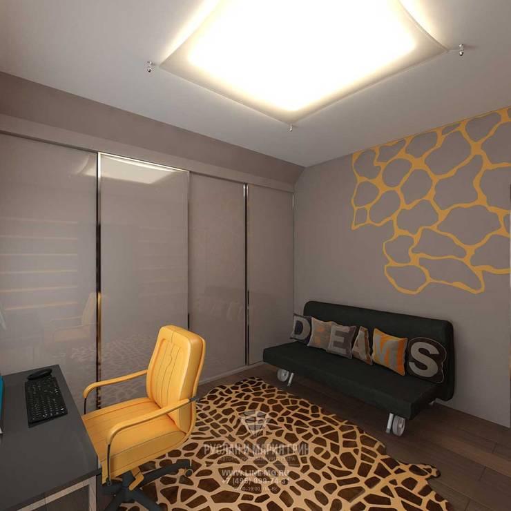 industrial Nursery/kid's room by Студия дизайна интерьера Руслана и Марии Грин